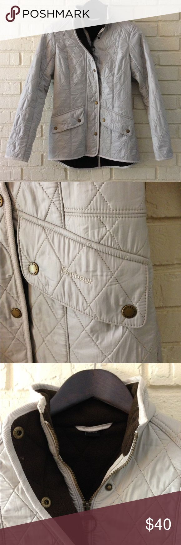 EUC Barbour quilted jacket EUC Barbour jacket. Very warm and cozy. Barbour Jackets & Coats
