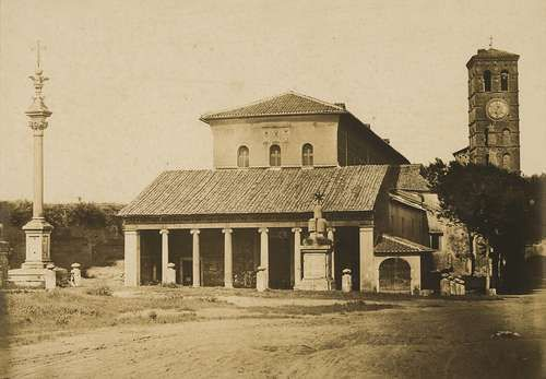 Church of San Lorenzo, Rome 1855 (ca)