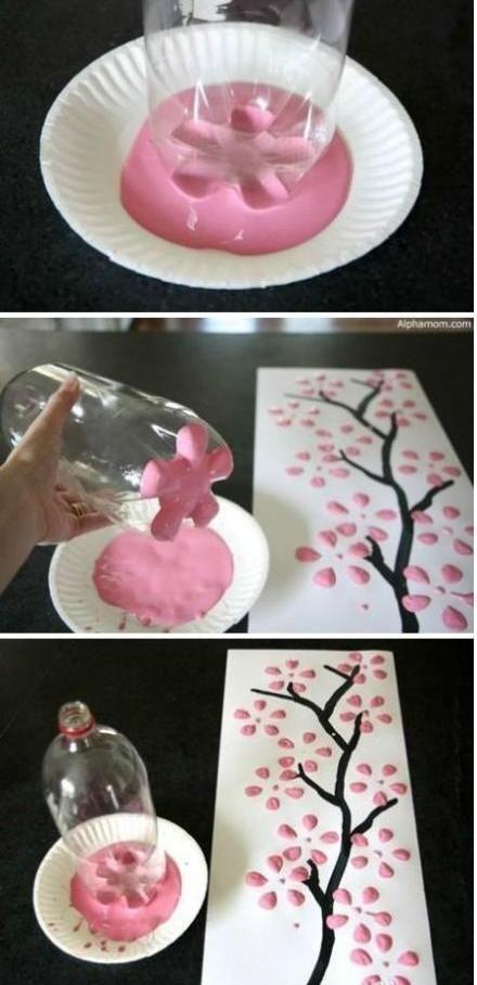 Super cute idea for kids' room art.