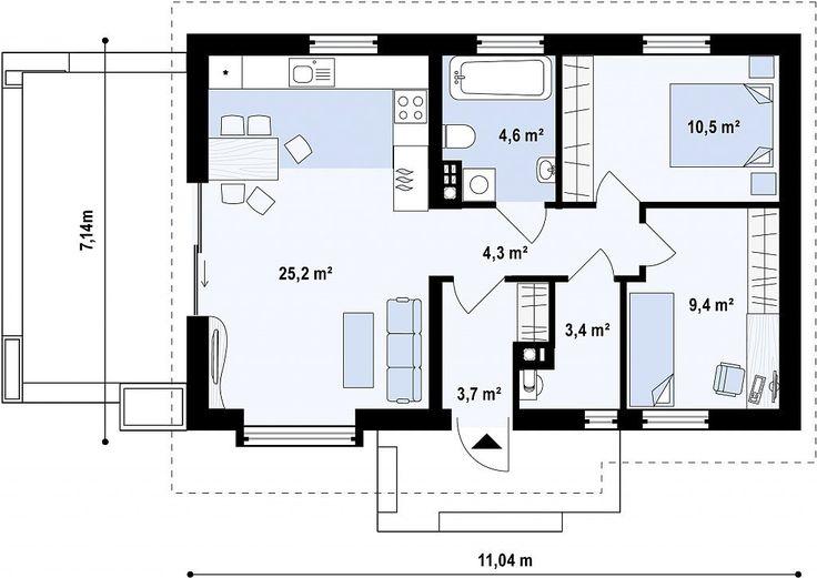 Proiecte case mici O casă de vis cu o suprafată mică este tot ce isi doresc majoritatea familiilor tinere. Acest lucru se datorează costurilor reduse de constructie si intretinere dar si a faptului…