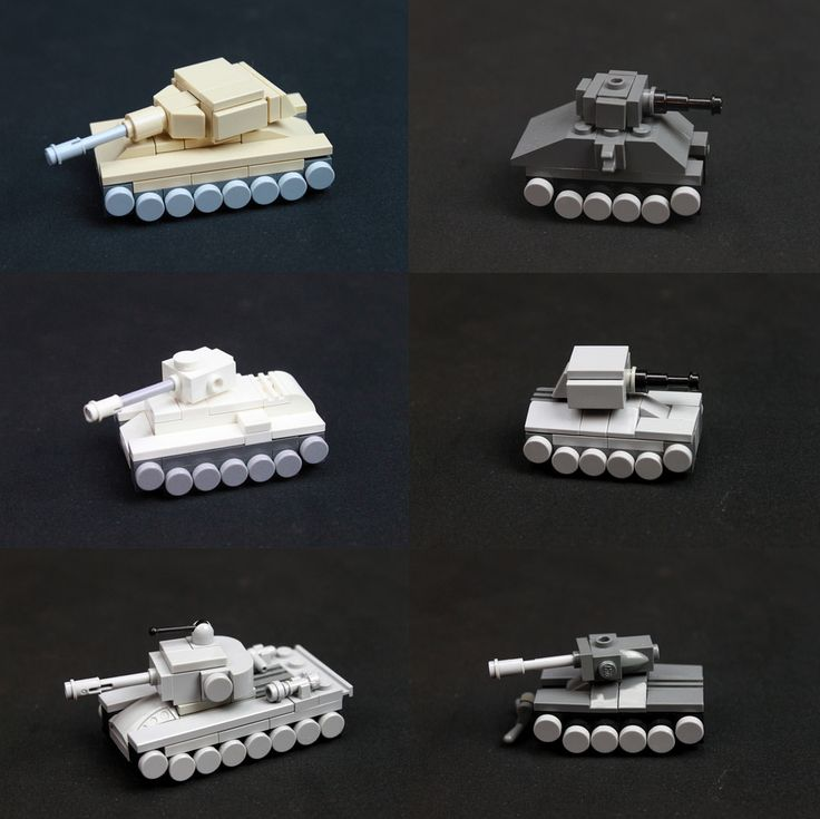 LEGO Micro Tanks | by jtheels