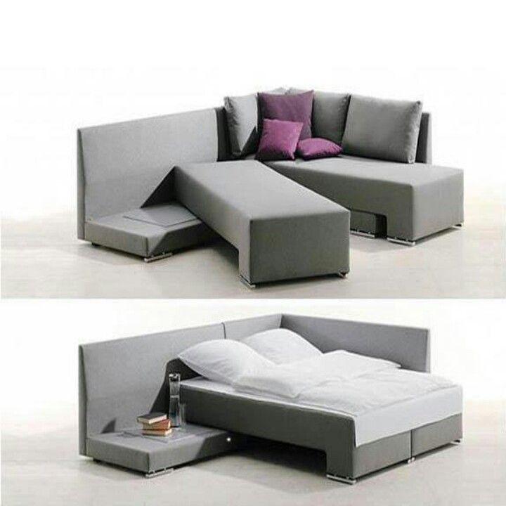 Brillanti invenzioni dei mobili a doppio uso