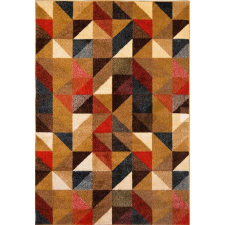 Home Dynamix Reaction Collection HD4995 Modern Area Rug, Multicolor