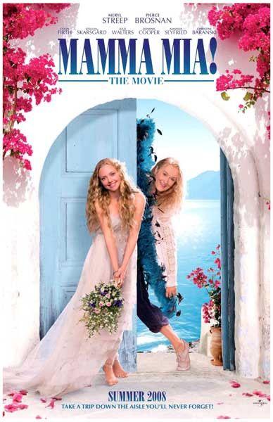 Mamma Mia Trip Down the Aisle Meryl Streep Movie Poster 11x17