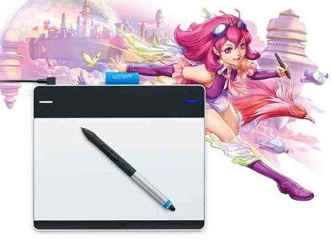 If you love the colorful world of manga and enjoy creating your own characters, Intuos Manga was designed to help you bring them to life. The innovative Intuos Manga Creative Pen and Touch Tablet combines a pressure-sensitive pen and multi-touch capabilities in one smart device, so you can create digitally with the natural comfort, precision and feel of traditional brushes and pencils.  Visit http://wacom.com