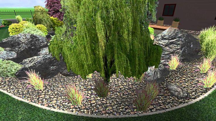 Příměstská zahrada na pardubicku s jezírkem