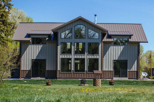 Best 25 metal building houses ideas on pinterest metal for Morton building with basement