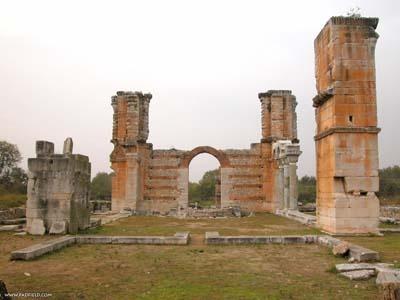Greece: Philippi: Bascilica