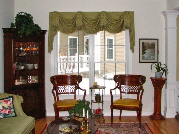 valances for living room mpire valance formal living room green tassel fringe trim mediterranean rug plant decor cabinet of Get the Ideas of Great Valances for Your Nifty Living Room