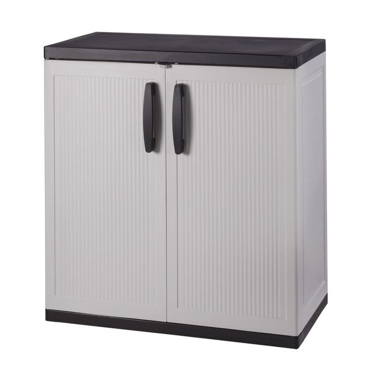 Locking Storage Cabinet Plastic