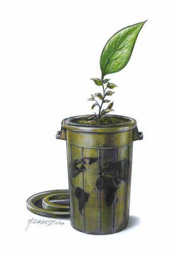 Prize winners Euro-Kartoenale 2015 'Soil pollution and sanitation'