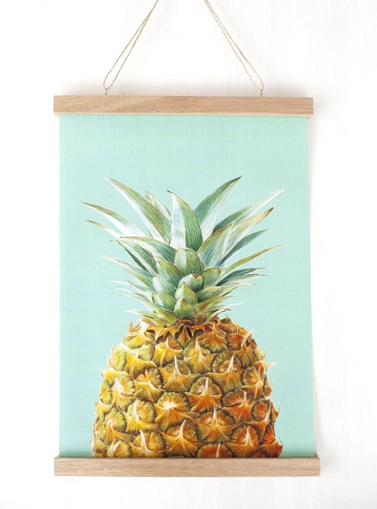 DIY Poster Hanger - Crafted
