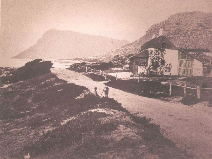 File:Main Road and Beaufort Cottage in Kalk Bay - Cape Town 1880 ...