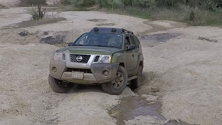 Xterra Pro-4x and Wrangler Sahara JK in the Quarry at The Badlands Off R...  #Xterra #Pro-4x #Jeep #Wrangler #sahara #offroad #badlands #quarry