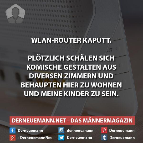 WLAN-Router kaputt #derneuemann #humor #lustig #spaß #wlan #router