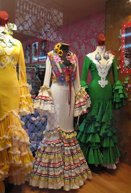 Flamenco Dress Up at La Feria de Abril - Paint + Pattern