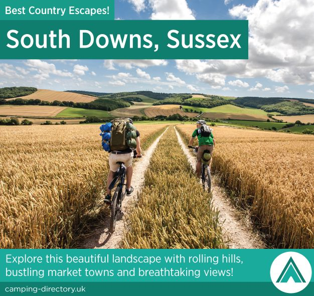 South Downs, Sussex. Country Escape. Explore this beautiful landscape with rolling hills, bustling market towns and breathtaking views.