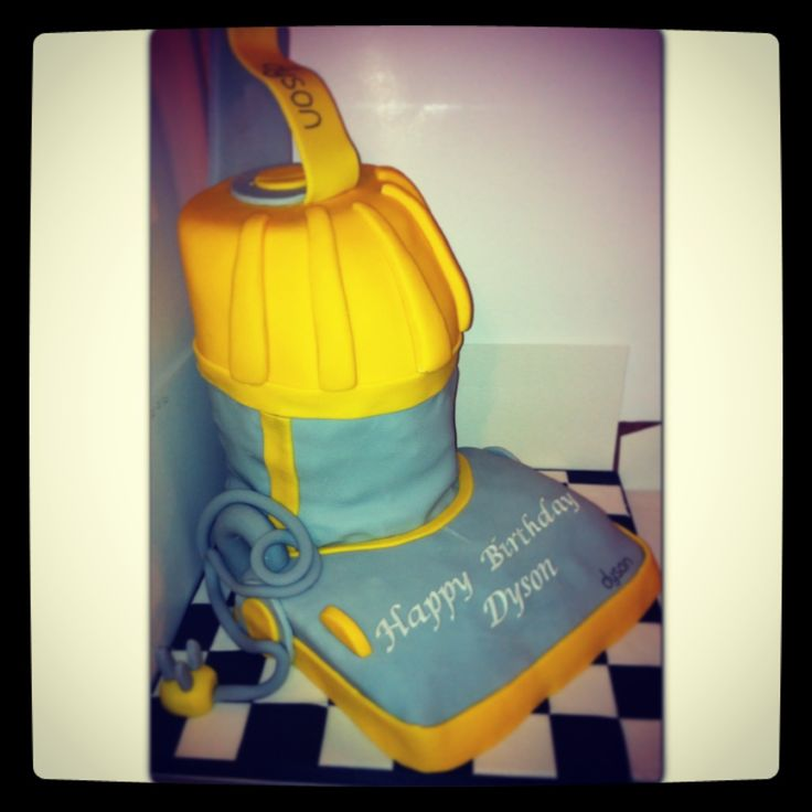 Dyson Vacuum Cleaner Birthday Cake Logan S 3rd Birthday