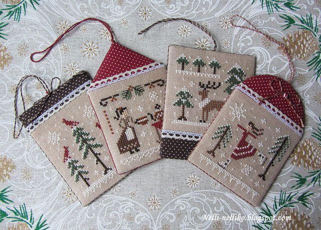 Nelli: Рождественские картинки / Christmas pictures