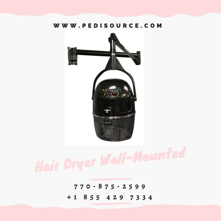 Hair Dryer Wall-Mounted #Hair_Dryer_Wall_Mounted  770-875-2599 +1 855 429 7334 https://www.pedisource.com/steamers-processors/jeffco-2238h-dryer-wall-mounted/  www.pedisource.com  Portable Hooded Dryer w/ VARIABLE heat setting and 60 minute timer. Easily adjusted up and down to match your salon setting, and easily moved from spot to spot. Jeffco advises hair nets be worn when using this device. 110 volts, 1000 watts heating capacity. One year warranty.  jeffco'2238H Dryer Wall-Mounted, wall…