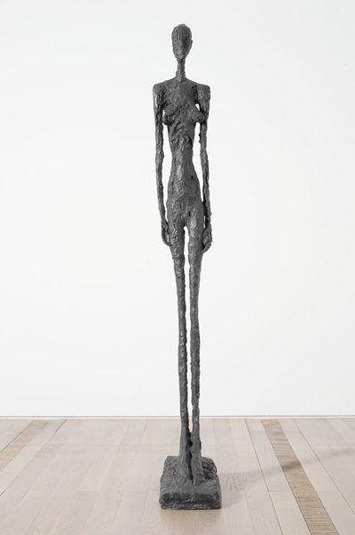 Grande femme III, 1960 Bronze, Susse Fondeur Paris, 237 x 31x 54 cm Foto: Robert Bayer, Basel