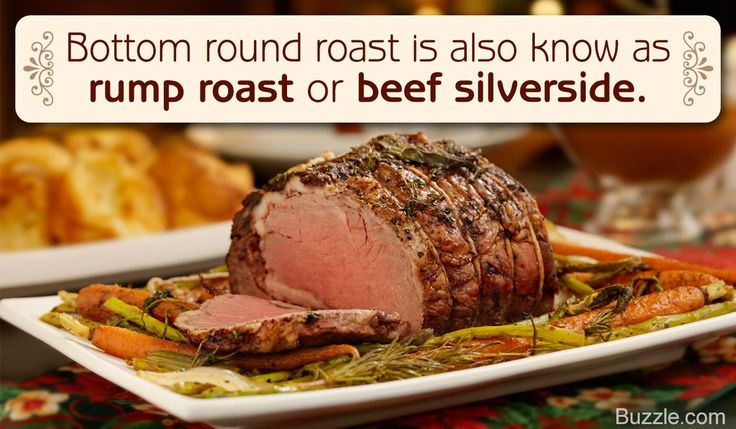 Tip to cook a bottom round roast