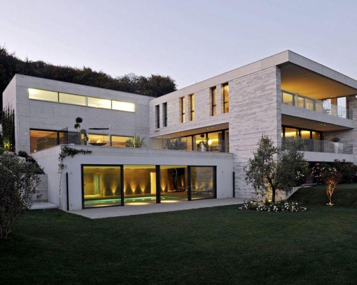 Villa Lugano In Switzerland By Angelo Pozzoli