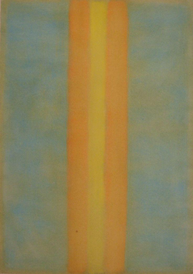 Stefano d'Andrea - pastelli a olio su carta - cm. 48 x 70
