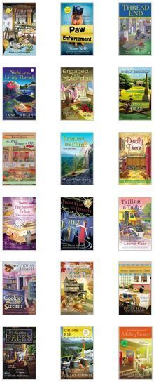 New Cozy Mysteries Are Here! | Here are some of the new Cozy Mystery books that have been added to our collection this month…
