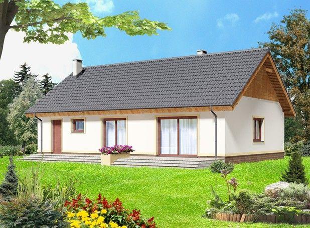 #Projekt TWI-658: 102,97 m². Dom parterowy przeznaczony dla 3-4 osobowej rodziny. Wnętrze budynku podzielono na 3 strefy: dzienną, nocną oraz gospodarczą. Sprawdź więcej - kliknij w Pina:)