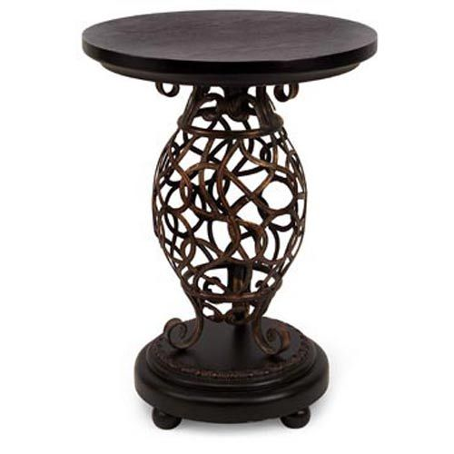 Scroll Base Occasional Table
