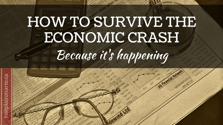 How To Survive The Stock Market Crash Part 2 - Just Plain Marie Homesteading and Simple Living