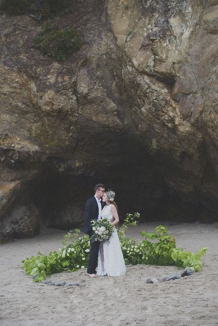 Oregon beach wedding ceremony and if you need a celebrant call me at (310) 882-5039