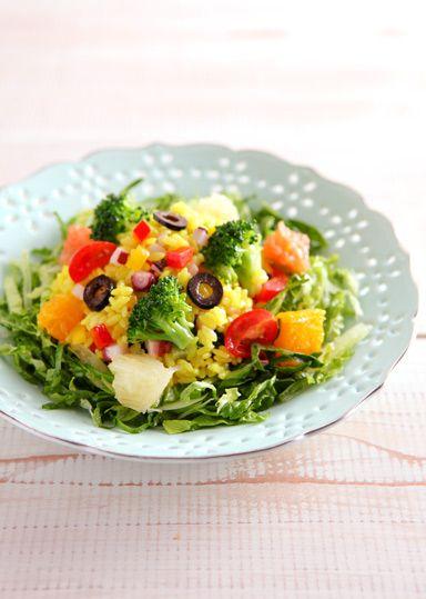 10種のベジタブルライスサラダ のレシピ・作り方 │ABCクッキングスタジオのレシピ | 料理教室・スクールならABCクッキングスタジオ