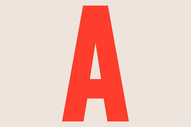 typography GIF, type design, fonts, typography, color. from BLOG Good design makes me happy