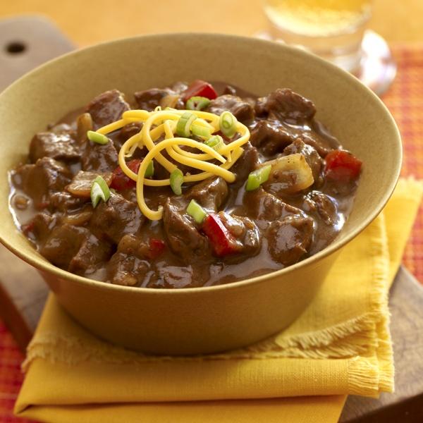 Ancho Chile Con Carne