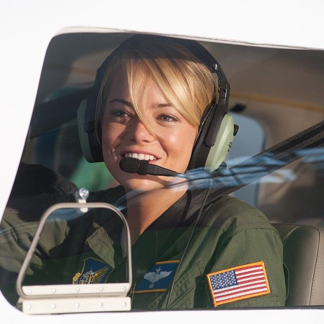 #AlohaMovie sneak peek how perf is Emma Stone flying over Hawaii! Want an aloha of your own Click the link in our bio to enter for your chance to win the  #HawaiianGetawaySweeps Hawaiian vacation inspired by @AlohaTheMovie! by eonline