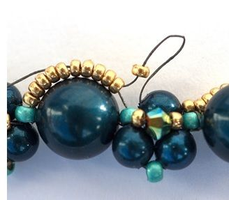 """Feel """"True Romance"""" with Ulrike Gunther's Necklace #Seed #Bead #Tutorials"""