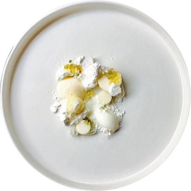 Milk panna cotta, merengue, vanilla caviar, yogurt sorbet  Feeling creative.....  #truecooks#theartofplating#thehague#thekitchenassassin#thebestchef#artonaplate#photooftheday#chef#dishoftheday#chefsplateform#chefsofinstagram#foodie#foodstarz_official#food#fdprn#happy#foodartchefs#gastroart#gastroartistry#worldofnoblesse#gourmetzfood#sousfresh#grateplates#chefstalk#chefsroll#foodpics#foodpictures#cookniche#thebestchefsoftheworld#culinarieinspiratie