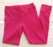 Cherokee Girls Neon Pink Thermal Leggings XS Extra Small 4/5