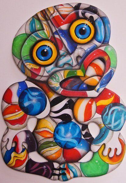 Marble Tiki