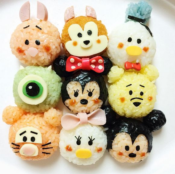 Cute Bento Boxes Of Popular Disney's 'Tsum Tsum' Characters Look Too Good To Eat - DesignTAXI.com