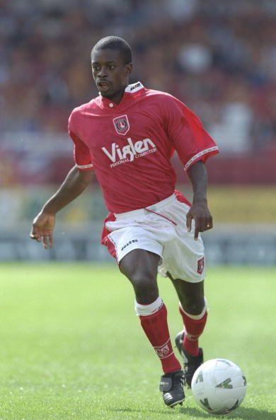 Keith Jones of Charlton Athletic in 1996.