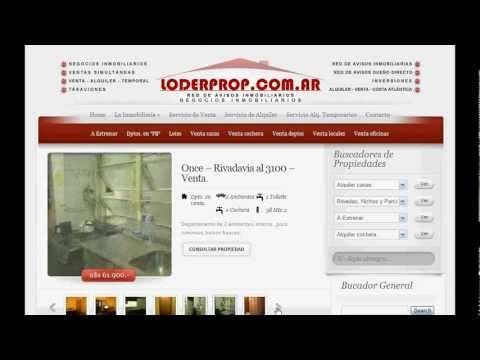 Video Demostración Página para Inmobiliaria Autoadministrable    http://www.supaginagratis.com.ar/plan-inmobiliaria-autoadministrable/
