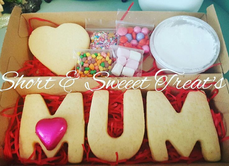 Mothers Day Cookie Decorating Activity Kit www.facebook.com/shortnsweeettreats