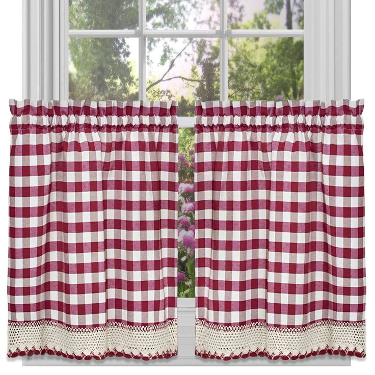 Buffalo Check Kitchen Tier Curtain Products Pinterest Buffalo Tier Curtains And Buffalo Check