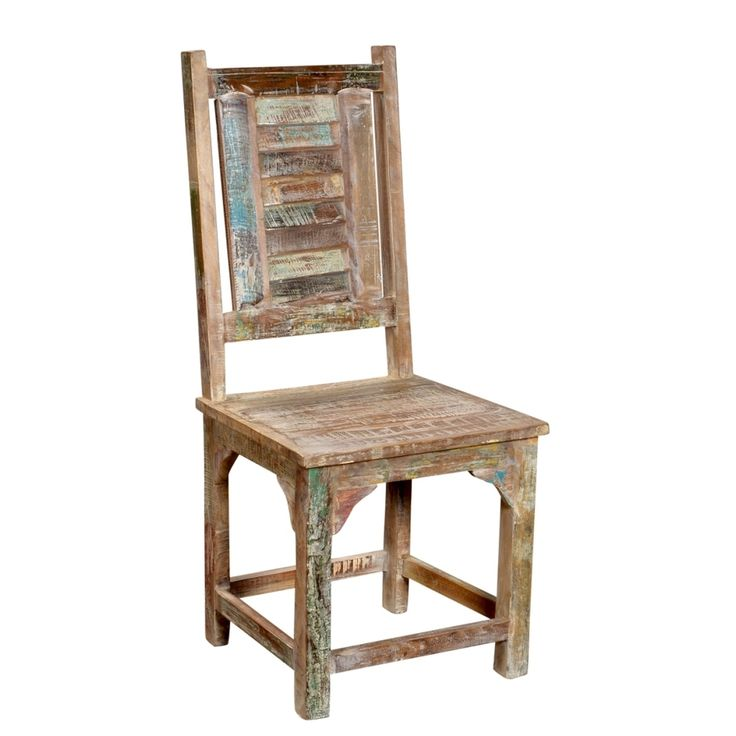 Rainforest Reclaimed Wood Shutter Chair | Overstock™ Shopping - Great Deals on Dining Chairs