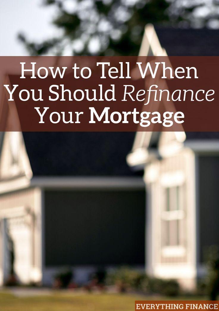 So sagen Sie, wann Sie Ihre Hypothek refinanzieren sollten So sagen Sie, wann Sie Ihre Hypothek refinanzieren sollten