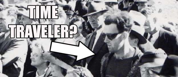 The man that appears in this photo dating from 1941 seems to have stepped right out of our modern ag... - Photo YouTube