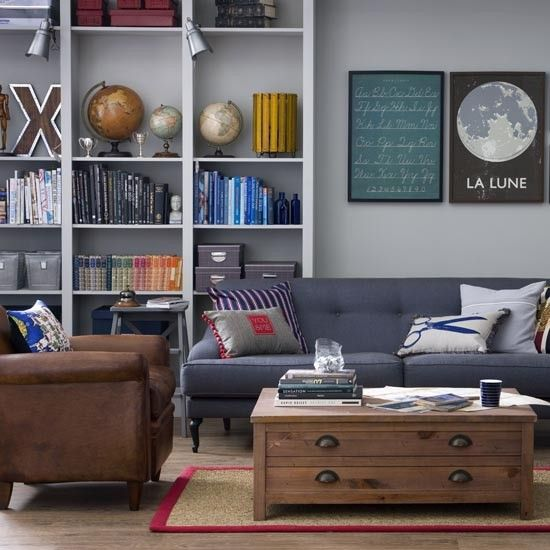 How To Mix And Match Furniture For Living Room: Great Schemes With Mix-and-match Living Room Chairs